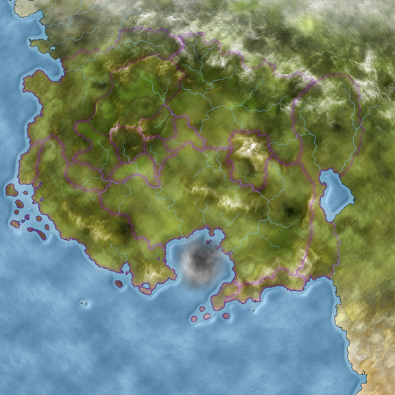 Gorgeous full color map of Ceria